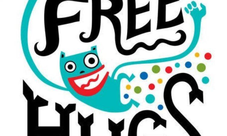 Îmbrățișări gratuite pe străzile Constanței