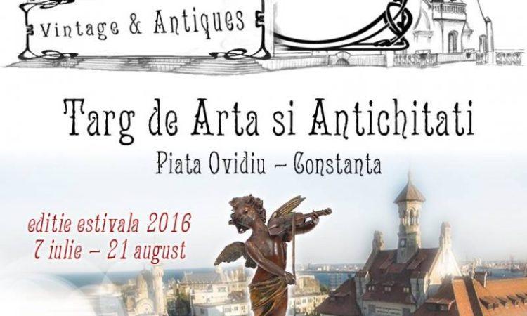 Târgul de Artă și Antichități – Piața Ovidiu Constanța