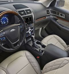 2019 ford explorer interior and technology [ 1920 x 1080 Pixel ]