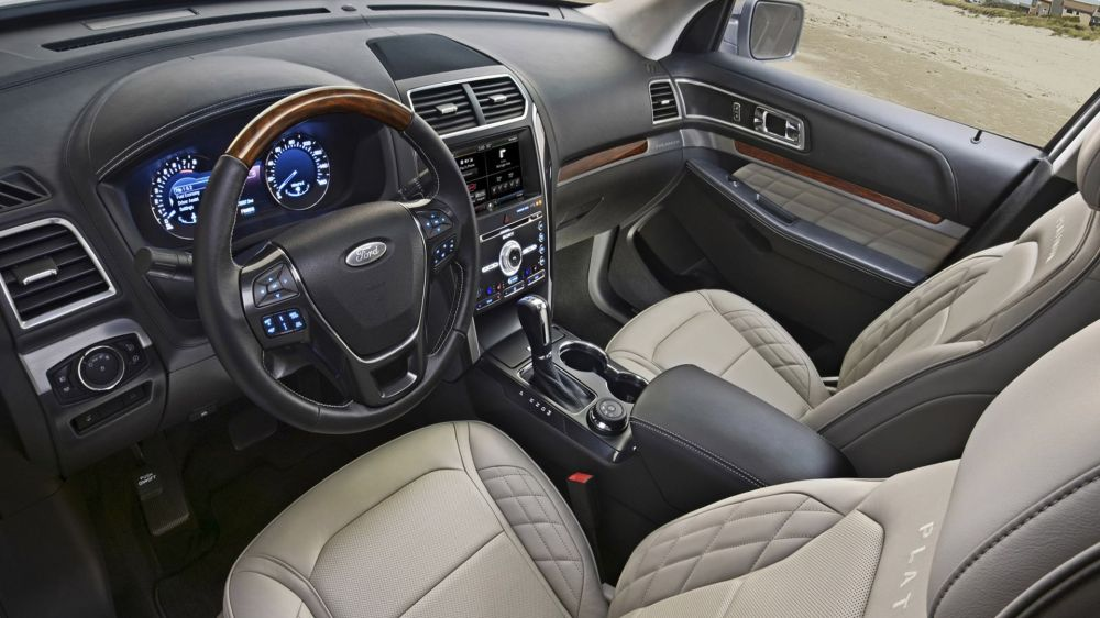 medium resolution of 2019 ford explorer interior and technology
