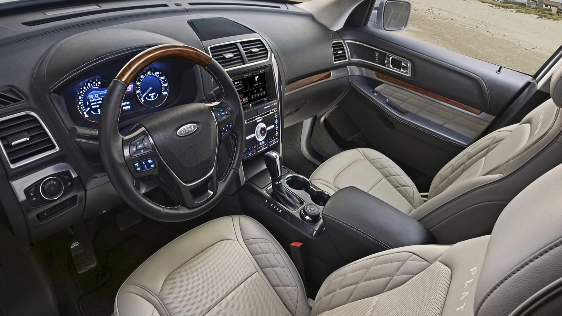 hight resolution of 2019 ford explorer interior and technology