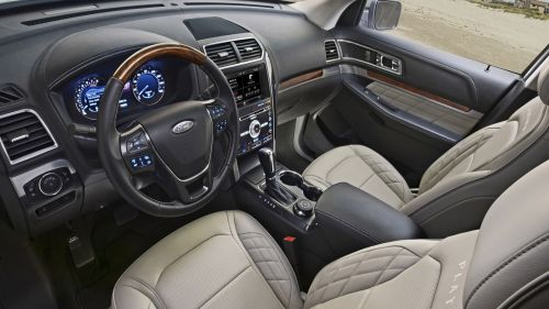 small resolution of 2019 ford explorer interior and technology