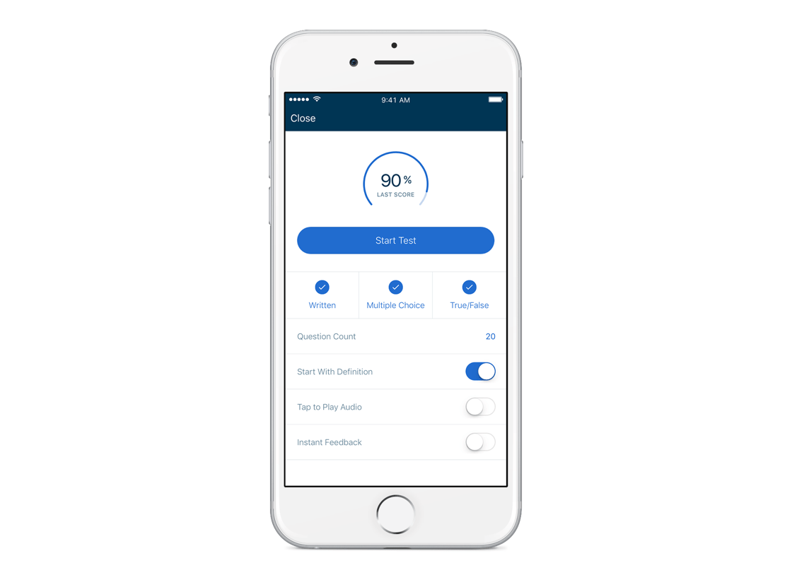 hight resolution of Practice Test Mode Now Available on Mobile   Quizlet