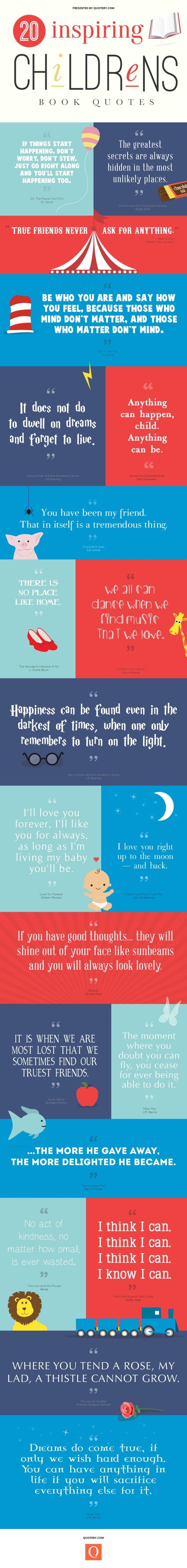 Children's book quotes.