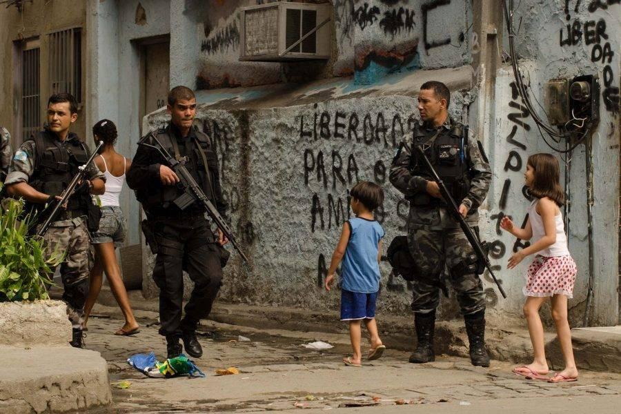 Presença de policiais do Bope em comunidade do Rio de Janeiro