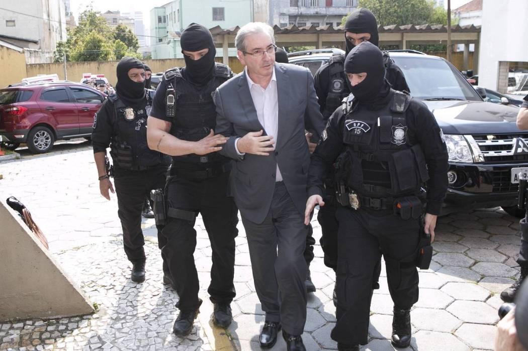 Cunha está preso desde outubro de 2016