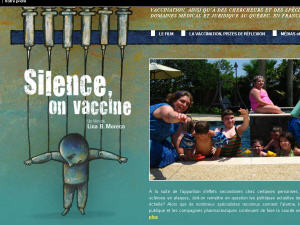 L'affiche du documentaire Silence, on vaccine