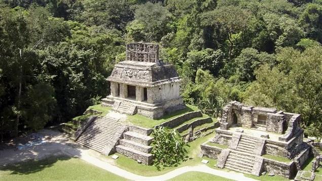 La cité maya de Palenque, dans l'État mexicain du Chiapas