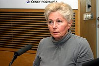 Zuzana Roithová, photo: Šárka Ševčíková, ČRo