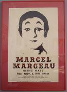 070928 marcel marceau posterx - Marceau said much with his silent act