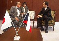 Karel Schwarzenberg au Japon, photo: Vít Kolíř, MZV