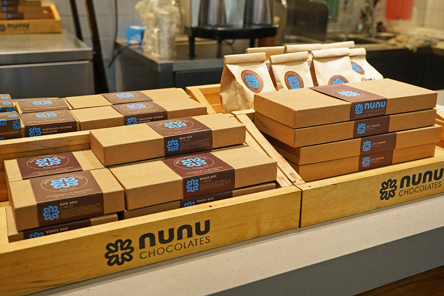 Nunu Chocolates 紐約暖心熱可可,布魯克林巧克力 Westfield World Trade Center 分店