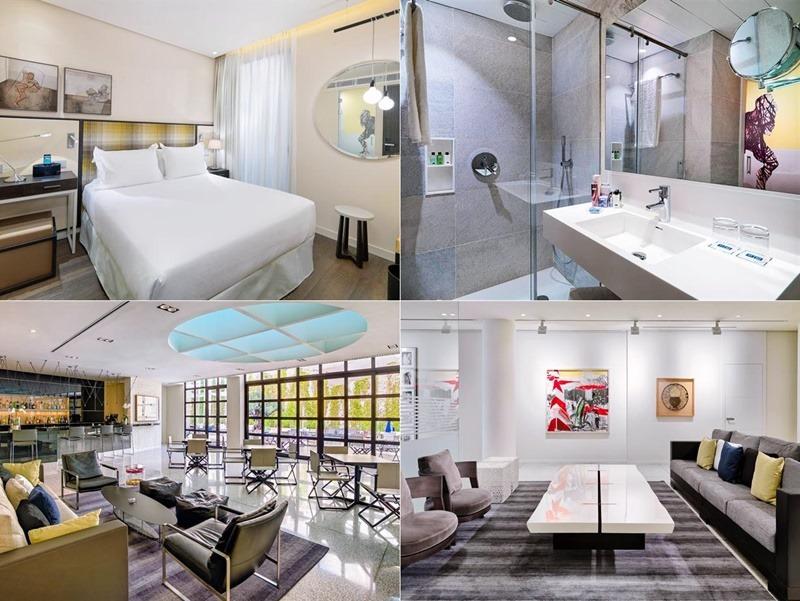 H10Art-hotel,西班牙, 巴塞隆納, 自由行, 歐洲自由行, 西班牙住宿推薦, 格拉西亞大道, 高第建築
