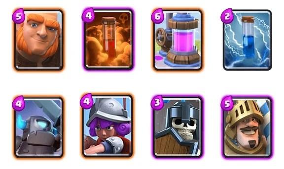 clash royale arena decks