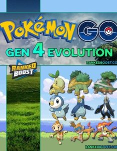 Pokemon go gen list also of all generation evolutions rh rankedboost