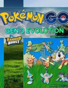Pokemon go gen evolutions also list of all generation rh rankedboost