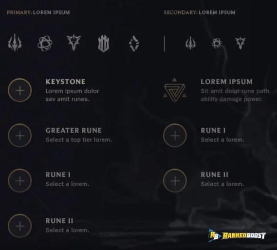 League Of Legend Runes New Runes Pre Season 8 Update