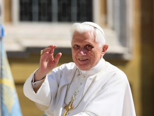 Pope Benedict XVI - Meeting with Sean Brady and Diarmuid Martin
