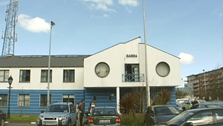 Tallaght Garda Station - Where men are being held