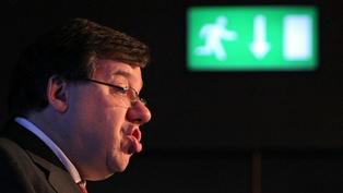 Brian Cowen - Will seek to dissolve Dáil on Tuesday
