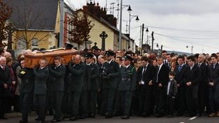 Tyrone - Thousands attended policeman's funeral