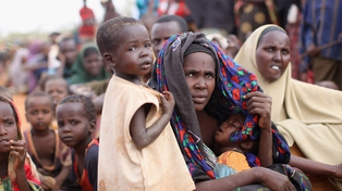 Famine - 10m people are estimated to be affected by drought in east Africa
