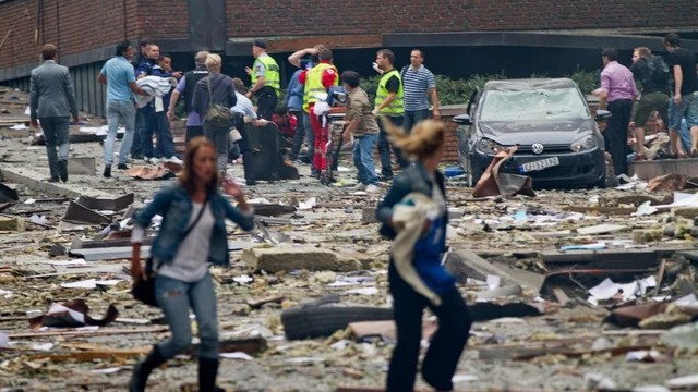 Seven people reported dead in Oslo bombing