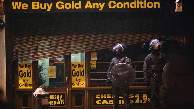 Possible 'copycat' looting