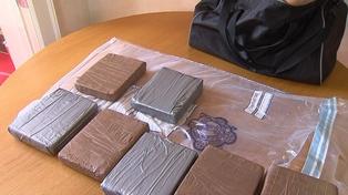 Heroin - 12kg of the drug seized yesterday
