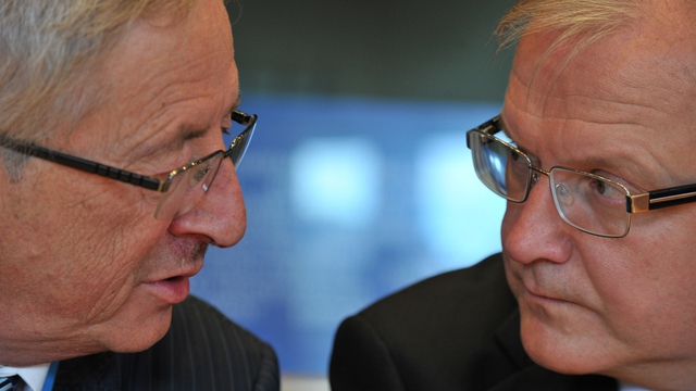 Jean Claude Juncker and Olli Rehn praise Irish efforts