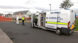 Scene sealed off for a forensic examination