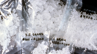 2.5kg of crystal methamphetamine was seized at Dublin Airport