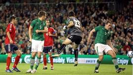 Richard Dunne - Scores the match winning goal