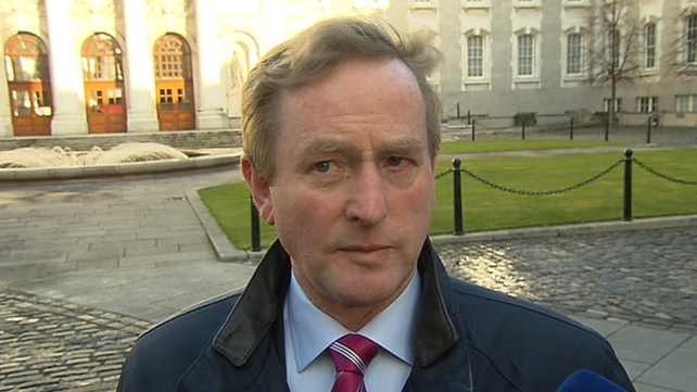 Enda Kenny said everybody is entitled to express an opinion on the draft abortion legislation