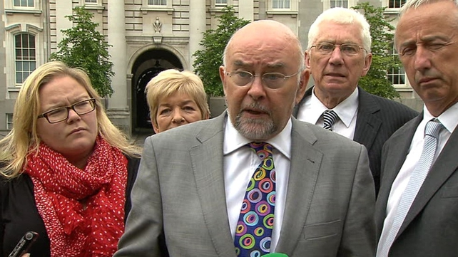 Ruairi Quinn said he had listened to the concerns of his colleagues