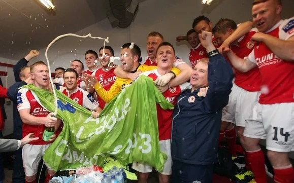 Liam Buckley hails St Patrick's Athletic players after league ...