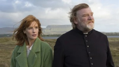Brendan Gleeson stars as a threatened priest in Calvary