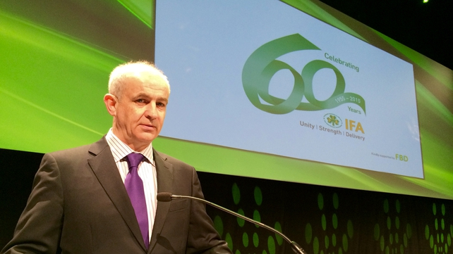 IFA President Eddie Downey is stepping down
