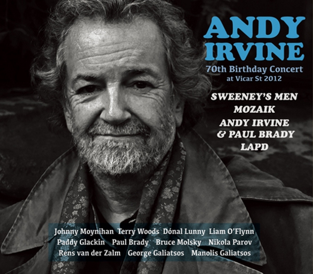 Friends and guests gathered to perform with Andy at Vicar Street in 2012, now on CD and DVD