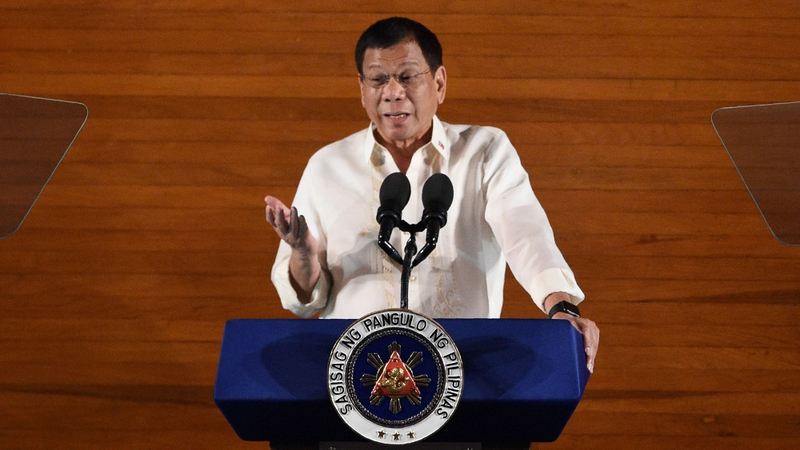 Rodrigo Duterte has rejected criticism and accused Western governments of hypocrisy