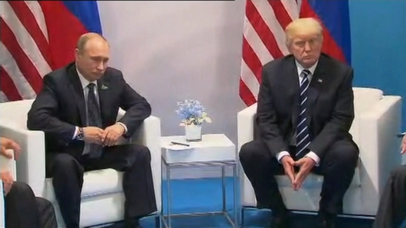 The two men discussed several crisis zones including the Korean peninsula