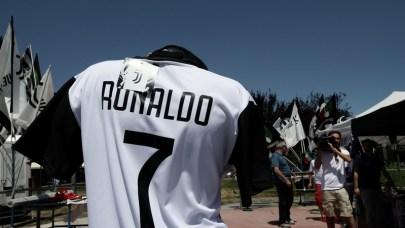 Cristiano Ronaldo's Juventus T-shirt