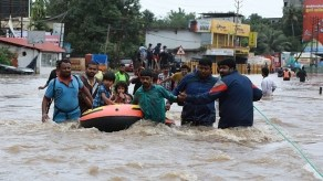 Image result for Rescue efforts continue as death toll in India's flood rises