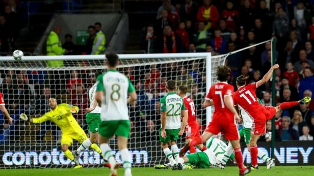 Gareth Bale scored against Ireland the last time the sides met