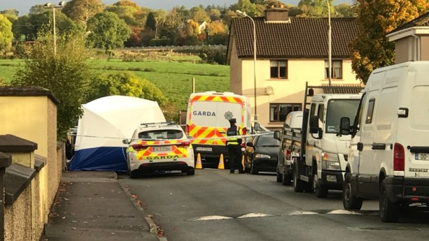 The scene has been preserved following the fatal stabbing