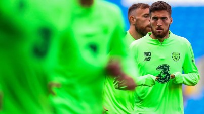 Matt Doherty arrived to this Ireland camp following some fine club form at Wolves
