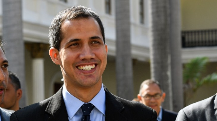 Opposition leader Juan Guaido declared himself interim president
