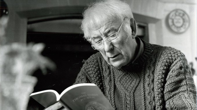 Seamus on the go - Heaney celebrated on public transport
