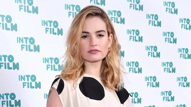 lily james fame doesn