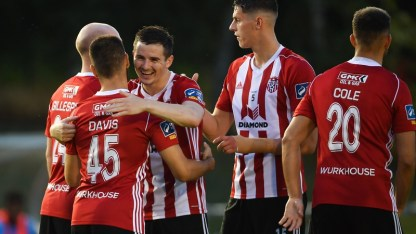 Derry City will face Dundalk in the FAI Cup